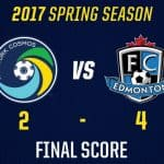 CRUSHED AT HOME: Four 2nd-half goals doom Cosmos, 4-2