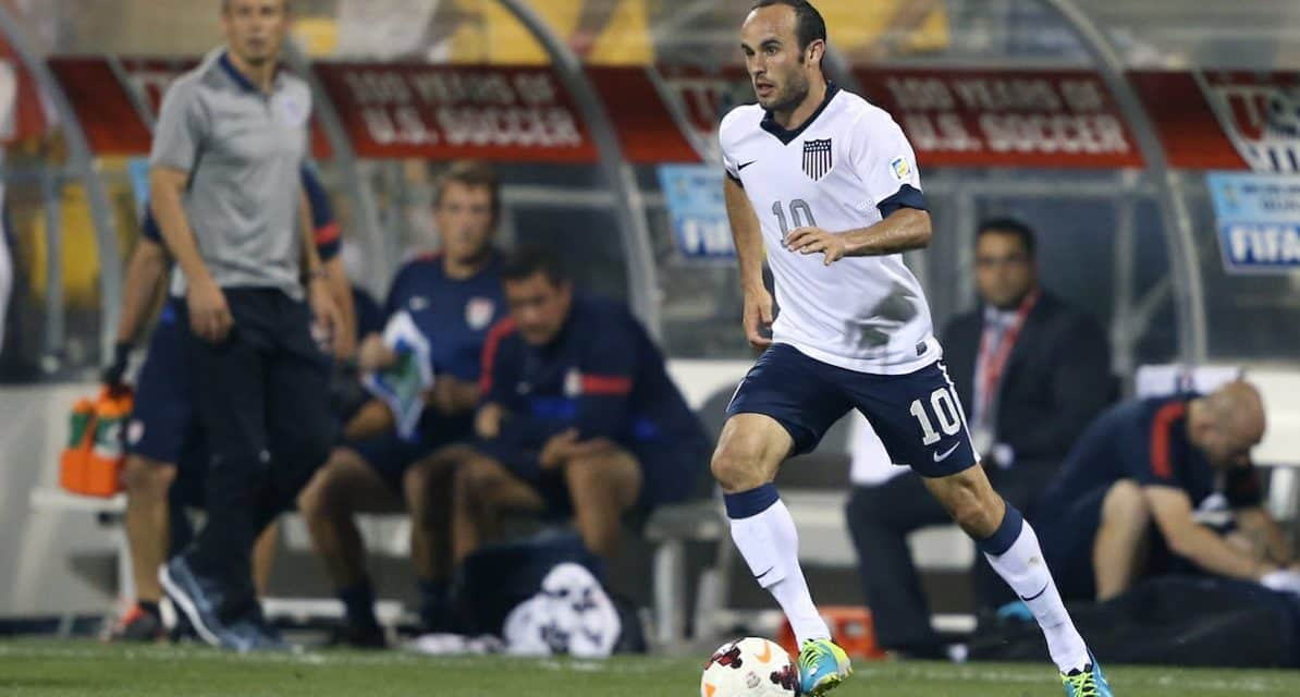 A REAL BIG COMEBACK: Landon Donovan comes out of retirement to play with Leon in Mexico