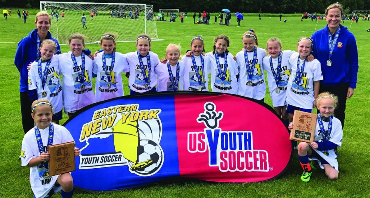 ENY GIRLS U-10 ARCH CUP: Garden City Crushers 2, Oceanside Dynamite 1