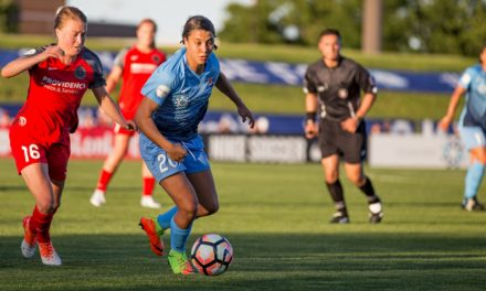 RECORD-BREAKER: Kerr becomes Sky Blue's all-time leading goal-scorer