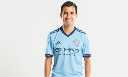 HE'S AMONG THE BEST: NYCFC's Moralez named to MLS Best XI