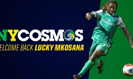 COSMOS GET LUCKY: Mkosana re-signs with the Cosmos
