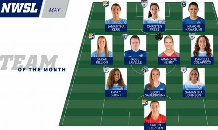 3 IN THE SPOTLIGHT: Sky Blue FC's Kerr, Killion, Sheridan on NWSL team of the month