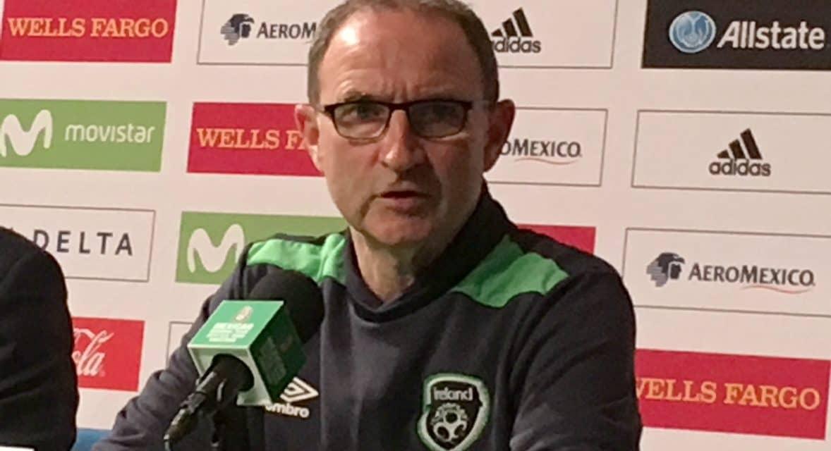 SOME EL TRI PRAISE: Ireland coach O'Neill lauds Mexico