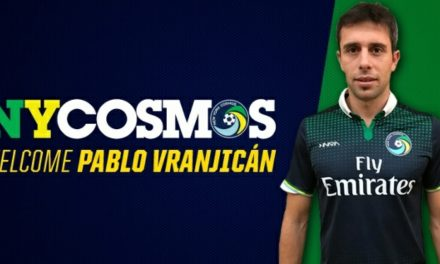 SOME FORWARD THINKING: Cosmos sign Argentine striker Vranjicán