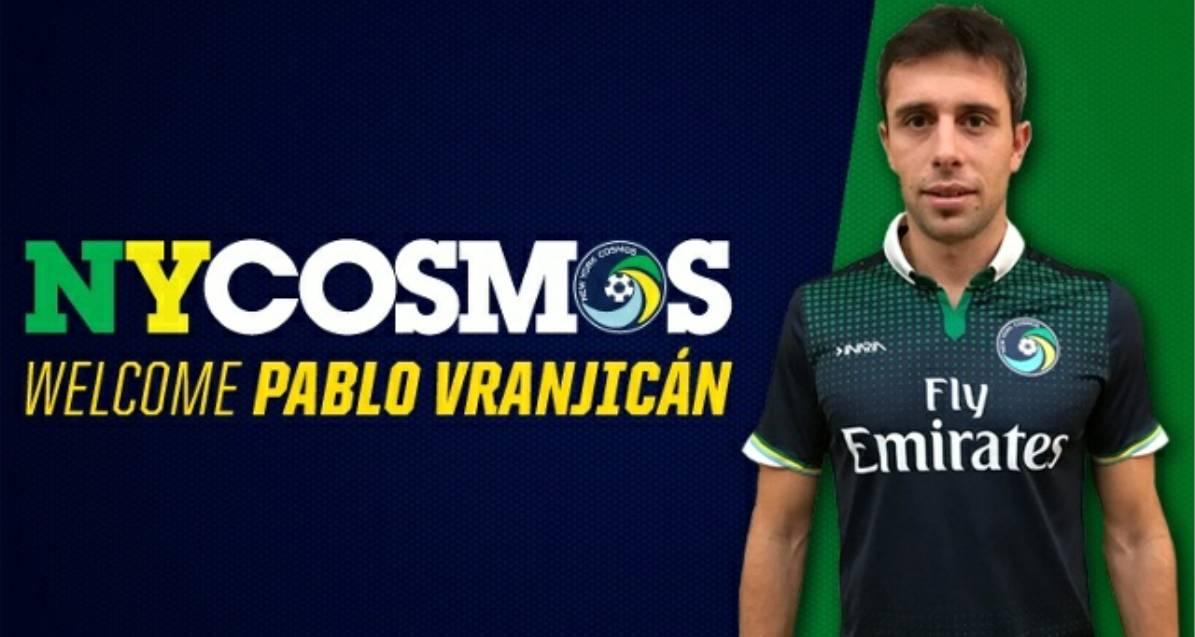 SOME FORWARD THINKING: Cosmos sign Argentine striker Vranjicán