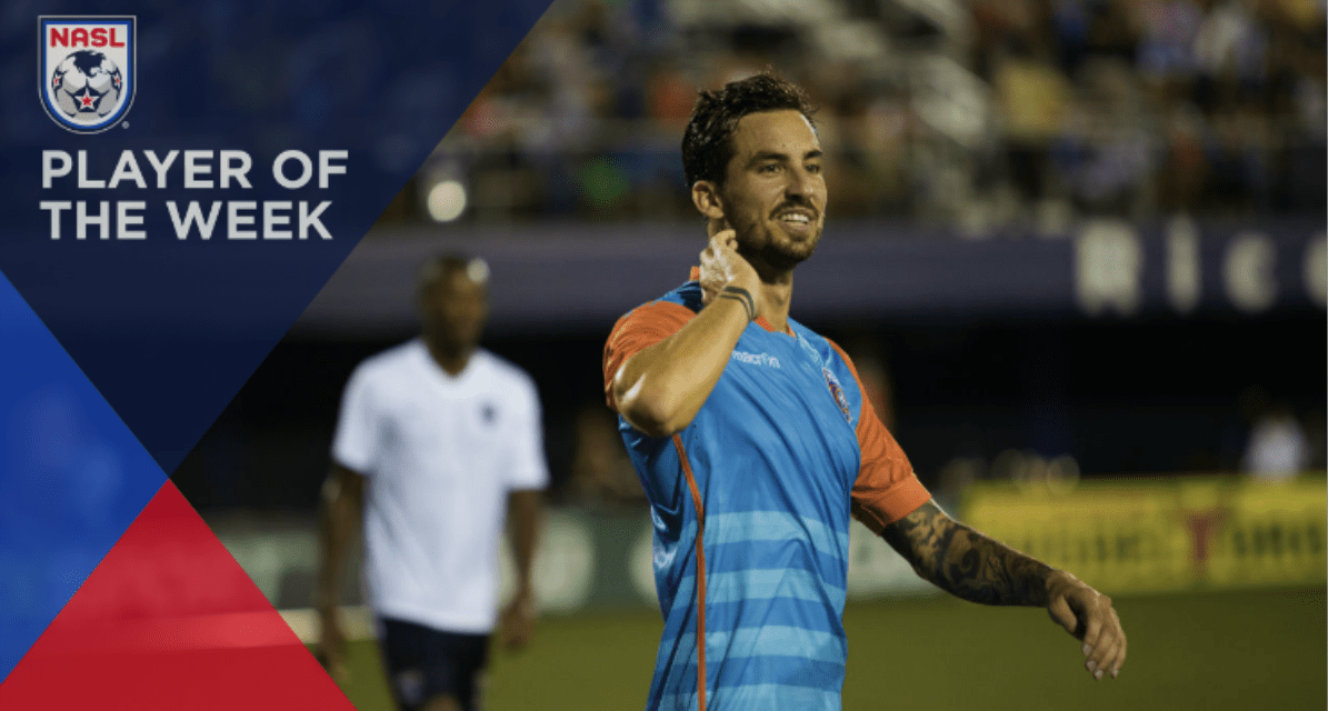 NASL PLAYER OF THE WEEK: Miami FC's Rennella (2 goals, 1 assist)