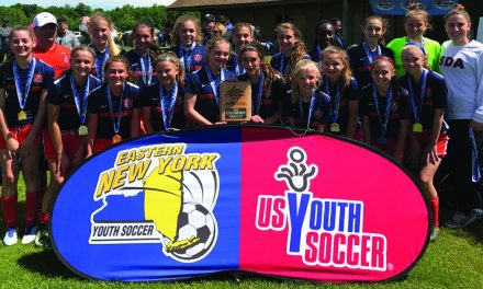 ENY GIRLS U-13 STATE CUP: SDA East Blasters 1, Terryville Sky Blue 0