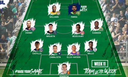 TOP HONORS: Sounders 2's Parra USL player of the week; NYRBII's Bezecourt on team of the week