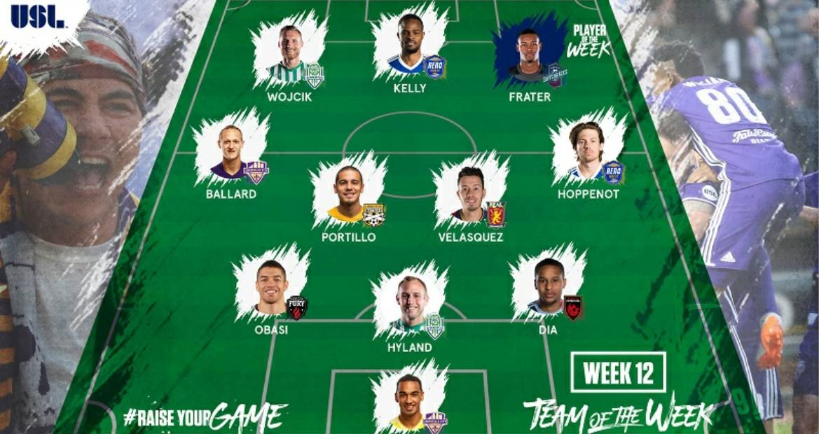USL PLAYER OF THE WEEK: Colorado Springs' Frater (2 goals) is honored