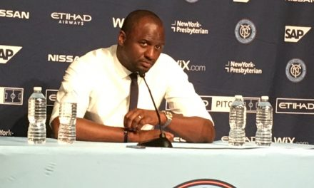 MEET THE PRESS: Vieira's post-game press conference