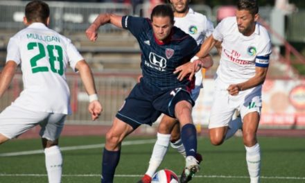 SOME SMARTS AND BRAUN: Indy edges Cosmos with late goal, 2-1