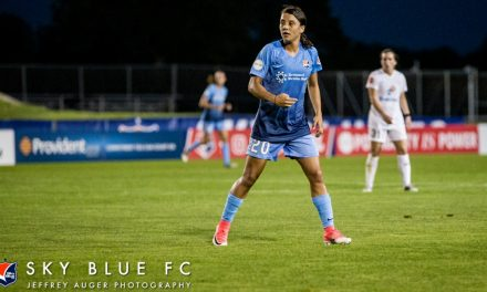 NO SURPRISE: Sky Blue FC's Kerr named NWSL player of the week