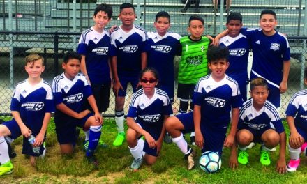 THEY'RE NOT KIDDING: New York Kids wear ENYPSL U-12 Boys crown