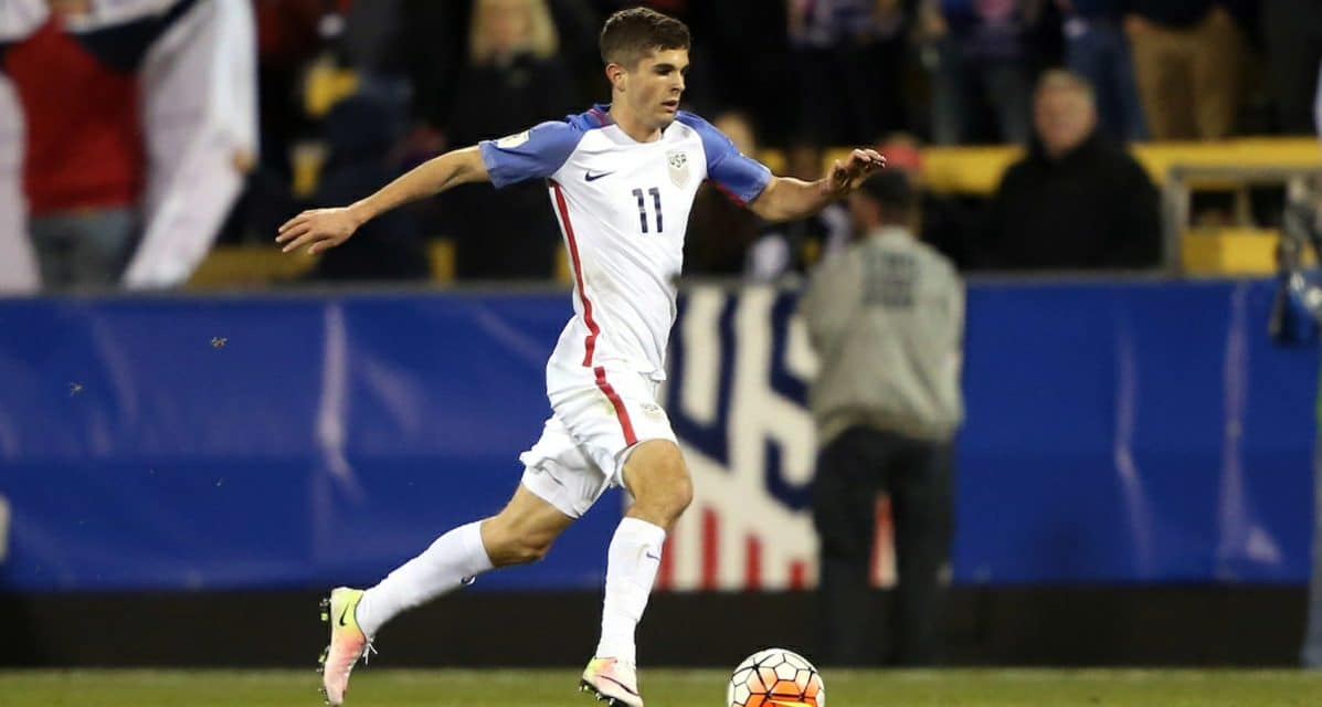 THE 'BEETHOVEN' OF AMERICAN SOCCER?: U.S. coaches, teammates heap high praise on teen Pulisic