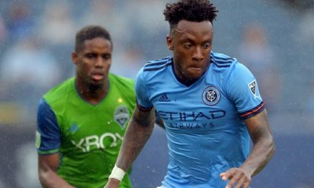 HIS HEAD IS IN THE RIGHT PLACE: NYCFC's Wallace shows how mentally tough he is