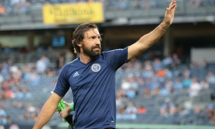 PIRLO'S RETURN: Ex-Italian international plays well in NYCFC loss