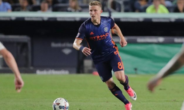 THIS MIDFIELD HAS A CERTAIN RING TO IT: Finnish international gives NYCFC midfield a bite and a physical presence to its game