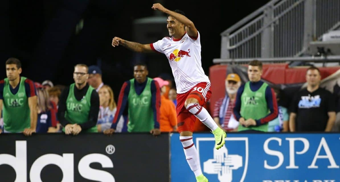 FROM SUB-PAR TO SUPER SUB: Veron comes in, turns a tie into a Red Bulls' win