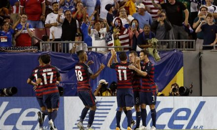 MORRIS TO THE RESCUE: Striker's 2nd goal lifts U.S. over Martinique in Gold Cup