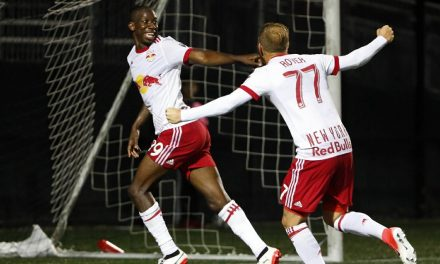 HE'S NO JINX: BWP comes through again for the Red Bulls