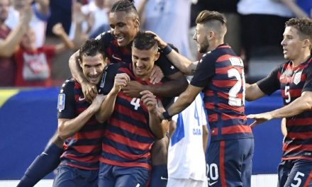 WELCOME MATT: Ex-Red Bull's 1st international goal lifts USA to win over Nicaragua, Group B title in Gold Cup