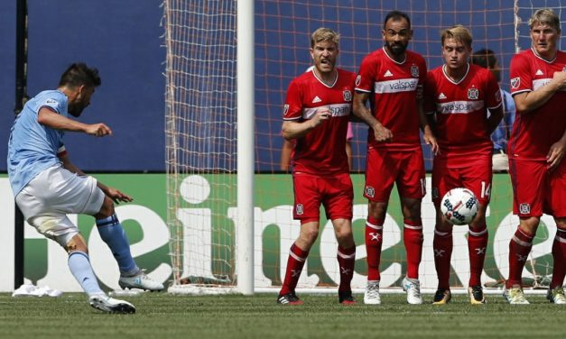 AGAINST THE GRAIN: 10-man NYCFC overcome the Fire, 2-1