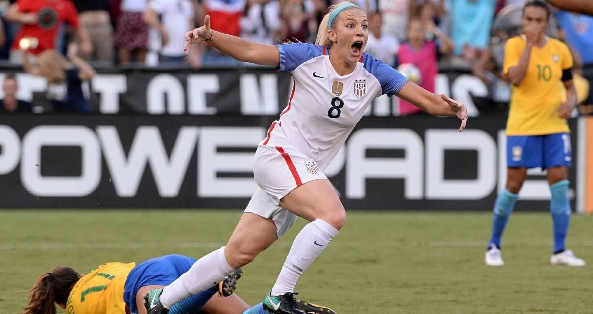 ONE MEMORABLE COMEBACK: U.S. women rally late for 4-3 win over Brazil