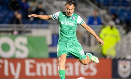HE'S THE JUAN: Arango returns to the Cosmos