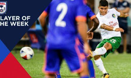 A REWARDING TIME: Cosmos' Calvillo named NASL player of the week