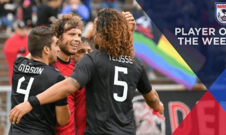 TOMMY'S GUN: NASL selects Deltas' Heinemann as player of the week