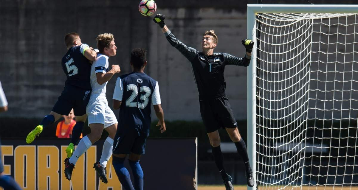 A NEW PLACE TO MAKE SAVES: Jonathan Klinsmann signs with Hertha Berlin