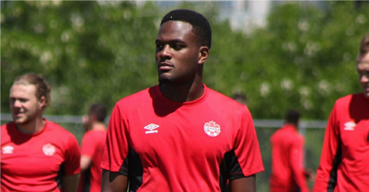 A STRIKING ADDITION: Canada brings on Larin for Gold Cup knockout round