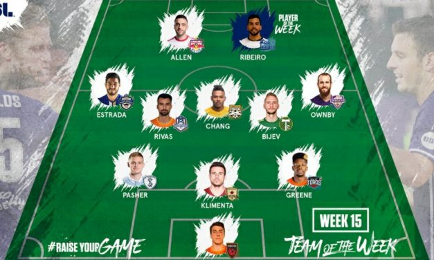 USL PLAYER OF THE WEEK: Harrisburg's Ribeiro wins it; NYRBII's Allen on team of the week