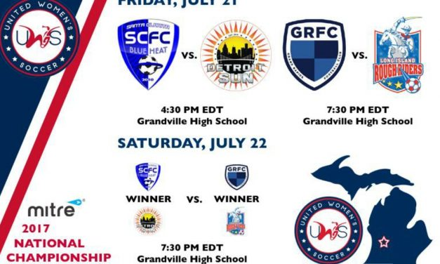 THE FINAL FOUR: LI Rough Riders to meet Grand Rapids FC in UWS semifinals