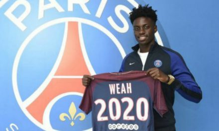 WATCH WEAH SCORE: His first Ligue 1 goal for PSG