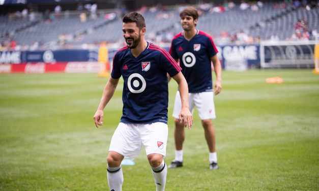 SIGHTS AND SIGHTS: Photos from MLS all-star practice, press conference