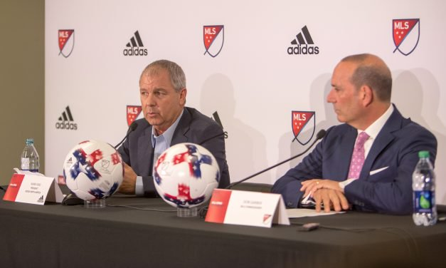 RE-UPPING: MLS, adidas agree to $700M extension through 2024