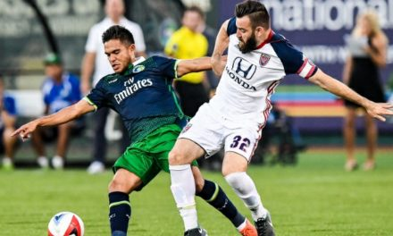COMEBACK KIDS: Cosmos rally from 2-0 goal deficit to tie Indy, 3-3