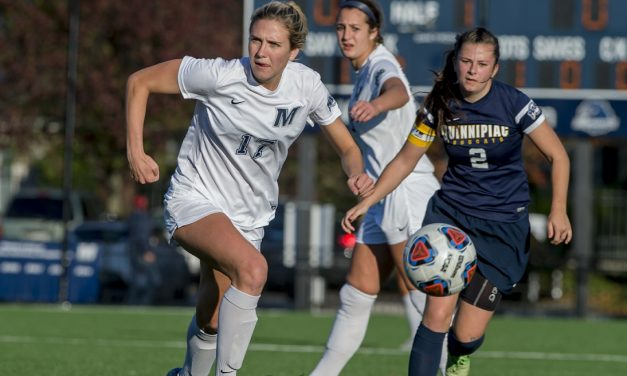 EVERYONE LOVES MONMOUTH: Hawks women unanimous selection by coaches to wear MAAC crown