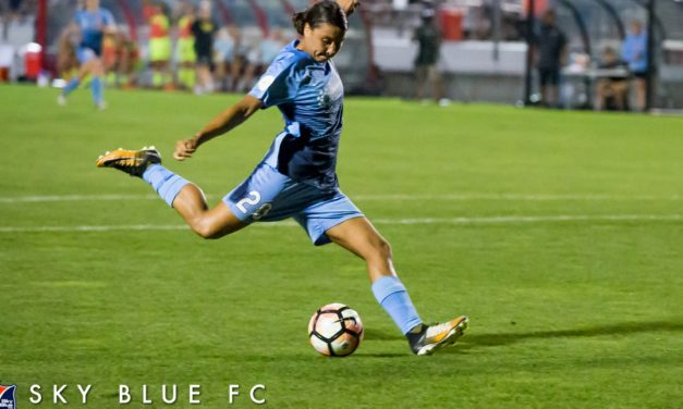 A VERY SWEET 16: Kerr's record-tying goal lifts Sky Blue FC over Boston