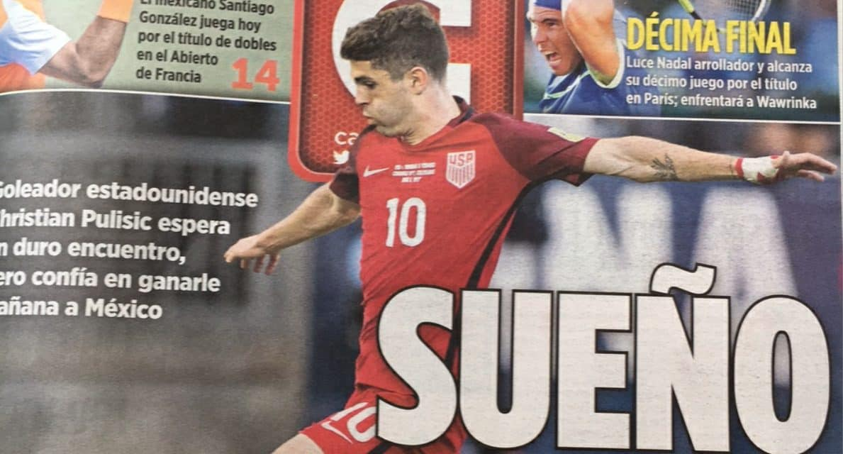 IT RUNS IN THE FAMILY — PART V: Mark Pulisic can't believe the over the top hype for his son