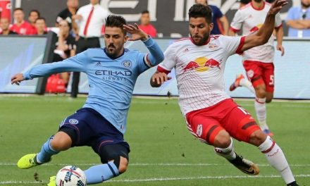 HAT-TRICK HERO: Villa's 3 goals lift NYCFC over Red Bulls to win 2017 Hudson River Derby