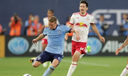 THEY BOTH WANT TO GET THE POINTS: Playoff push might overshadow the Hudson River Derby as NYCFC goes for a sweep