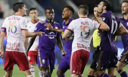 NO PROTEST: Kaka will abide by red card vs. Red Bulls, though he was only having fun