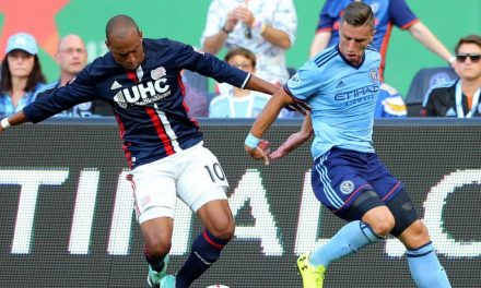 DRAMA KINGS: NYCFC rallies past Revs on Lewis' stoppage-time goal