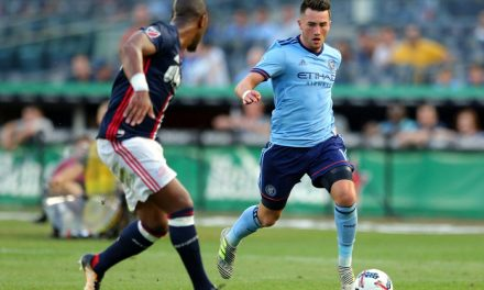 TIME FOR A BREATHER?: Vieira says he might rest Harrison vs. Red Bulls