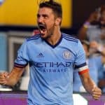 ON A RECORD PACE: If Villa keeps going like this, he will tie MLS season mark