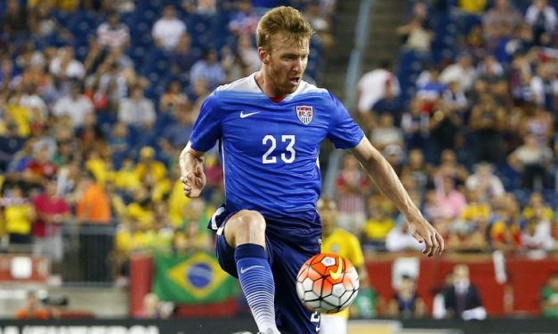 LIVING THE DREAM: Ex-Red Bull Ream admits he never imagined playing for USMNT