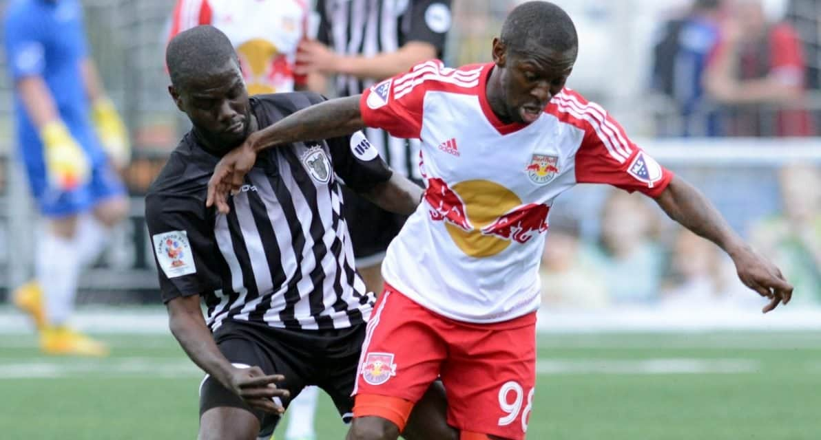 LOANED OUT AGAIN: Red Bulls' Abang to play for Romanian team
